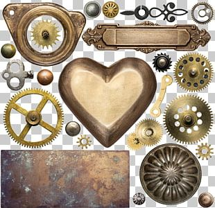 Metal Steampunk Gear Stock Photography Clockwork PNG