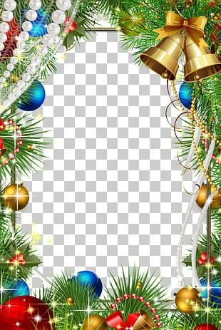 Christmas Decoration Frame PNG
