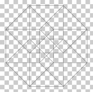 Tesseract Geometry Vertex PNG