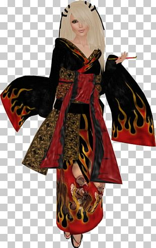 Robe Costume Design PNG