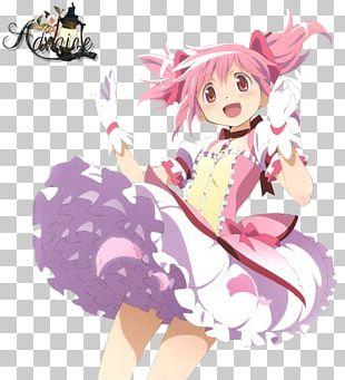 Madoka Kaname Homura Akemi Sayaka Miki Mami Tomoe Magical Girl PNG