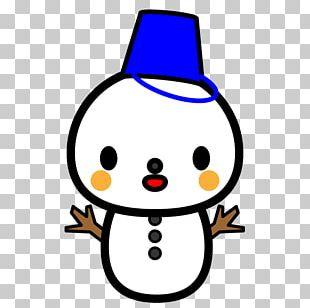 Snowman Illustration Daruma Doll PNG
