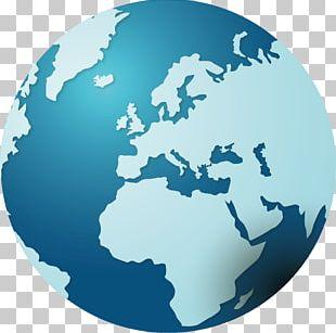 Earth Europe Globe PNG