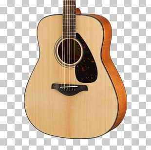 Yamaha FG800 Acoustic Guitar Dreadnought String Instruments PNG