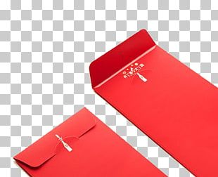 China Paper Red Envelope Chinese New Year PNG