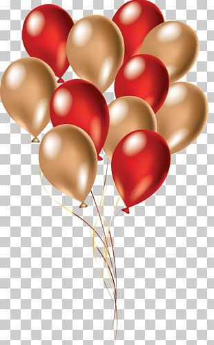 Balloon Birthday Red PNG