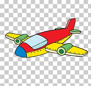 Airplane Aircraft Toy PNG