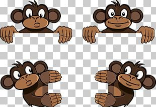 Three Wise Monkeys PNG