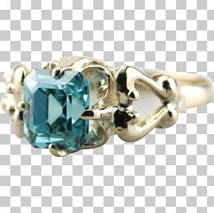 Turquoise Body Jewellery Ring Blue PNG