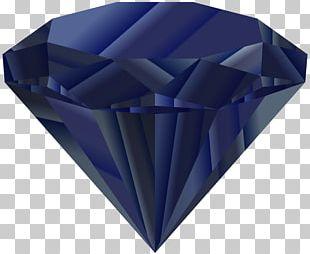 Blue Diamond Gemstone Jewellery Clothing PNG