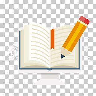 Paper Book Pencil PNG