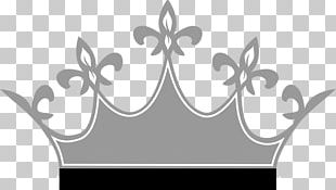 Crown Tiara Silver PNG