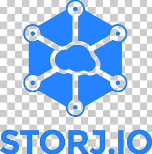 STORJ Blockchain Cryptocurrency Initial Coin Offering Cloud Storage PNG