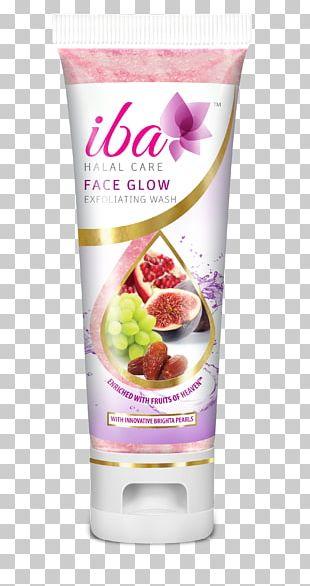 Halal Exfoliation Lotion Cream Facial PNG