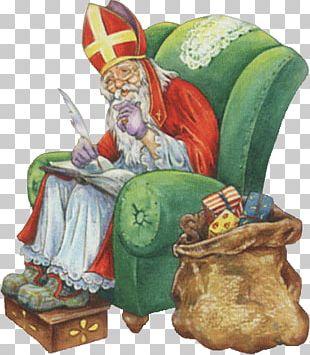 Saint Nicholas Writing PNG