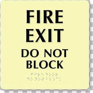 Exit Sign Emergency Exit Fire Escape Fire Door PNG