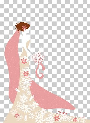 Text Gown Pink Illustration PNG