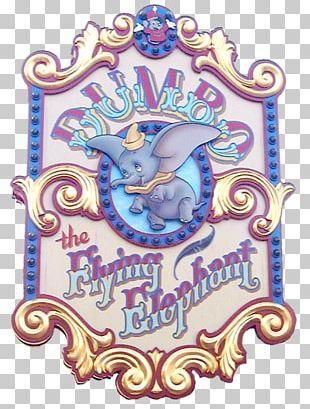 Disneyland Paris Dumbo The Flying Elephant Magic Kingdom PNG
