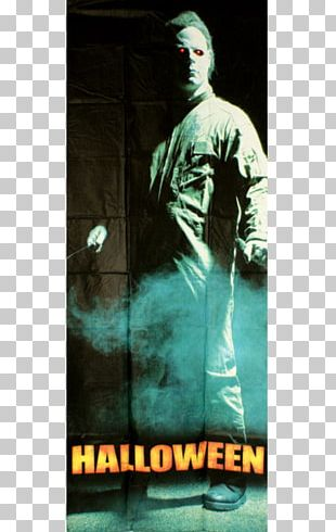 Halloween Film Series Green Album Cover Poster PNG