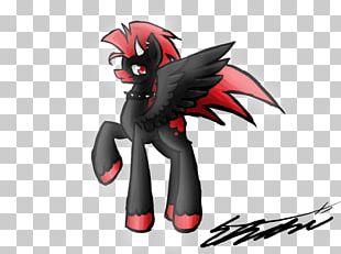 Demon Horse Mecha Legendary Creature Animated Cartoon PNG