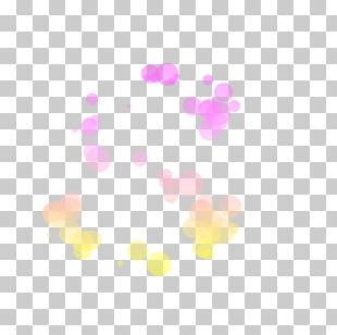 Light PhotoScape Bokeh PNG