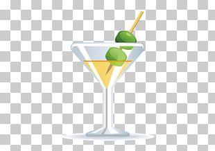 Martini Cocktail Garnish Cocktail Glass PNG