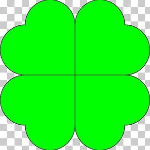 Shamrock Ireland Four-leaf Clover PNG