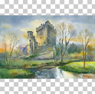 Watercolor Painting Ready To Paint Ireland In Watercolour Art Drawing PNG