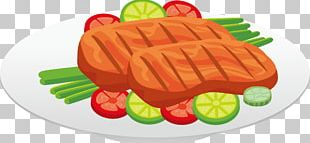 Bacon Chicken Steak Food PNG