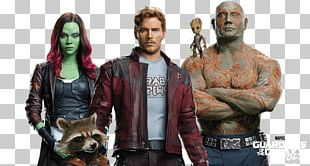 Gamora Star-Lord Rocket Raccoon Drax The Destroyer Nebula PNG