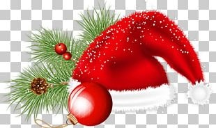 Christmas Ornament Candy Cane Santa Claus PNG