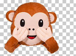 Emoji Cushion Emoticon Monkey Smiley PNG