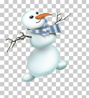 Snowman Winter Christmas Decoration PNG