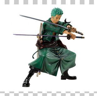 Roronoa Zoro Figurine One Piece Model Figure Banpresto PNG