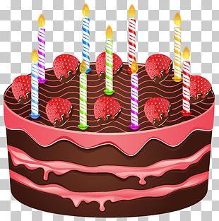 Birthday Cake Wedding Cake Chocolate Cake PNG