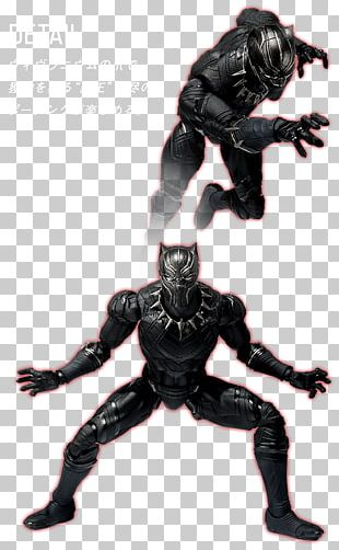 Black Panther Captain America Action & Toy Figures Marvel Cinematic Universe PNG