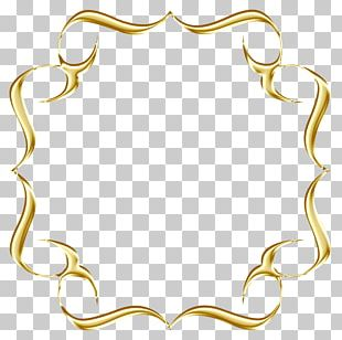Frames Necklace Gold Painting Photography PNG
