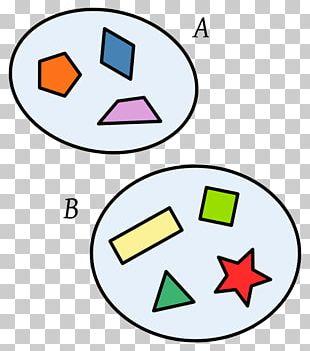 Union Set Intersection Diferencia De Conjuntos Element PNG