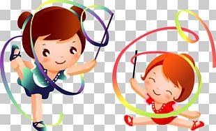Rhythmic Gymnastics PNG