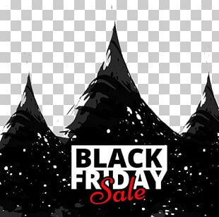 Black Friday Sales Poster Advertising PNG