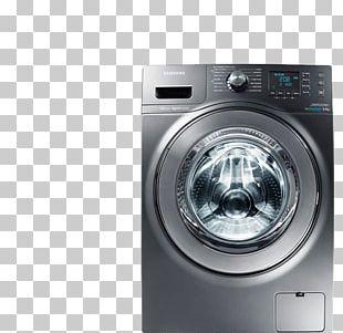Washing Machines Samsung WW90J5456MW 9kg 1400rpm Ecobubble Washing Machine Combo Washer Dryer PNG