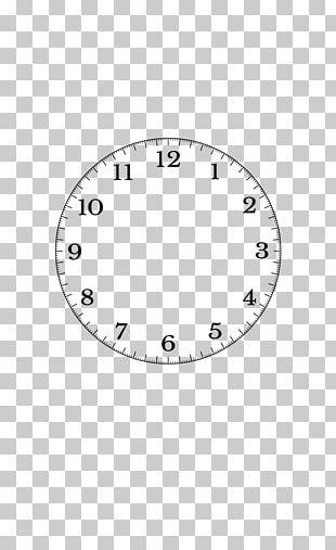 Clock Face Time Quartz Clock PNG