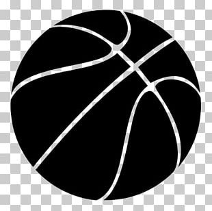 Outline Of Basketball Slam Dunk PNG