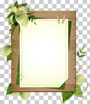 Paper Frames Wood Borders And Frames PNG