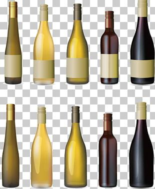 Red Wine White Wine Wine Cooler Glass Bottle PNG
