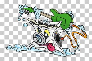 Washing Machines Cartoon Laundry PNG