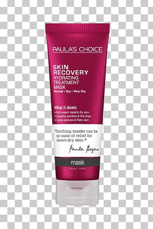 Paula's Choice Skin Recovery Hydrating Treatment Mask Face Lotion PNG