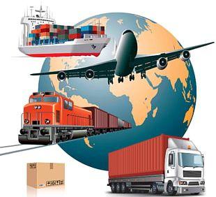 Air Transportation Cargo Freight Transport Logistics PNG