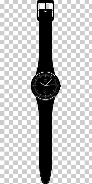 Swatch New Gent The Swatch Group Clock PNG