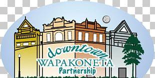 Wapakoneta Logo Shopping Centre PNG